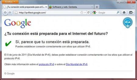 8 de junio, día mundial de IPv6. ¿Estás preparado? Compruébalo con el test de Google