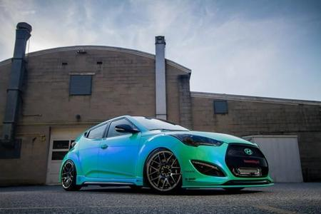 Hyundai Veloster By Fox Marketing