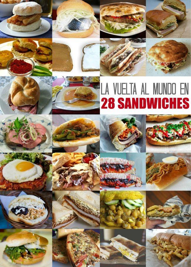 La vuelta al mundo en 28 sandwiches - Info - Taringa!