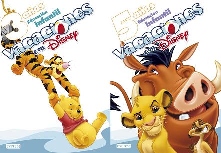Vacaciones con Disney, libros para aprender jugando