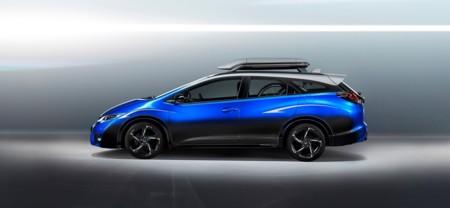 Honda Civic Tourer Active Life Concept, si eres ciclista de corazón, éste es el vehículo que estabas esperando