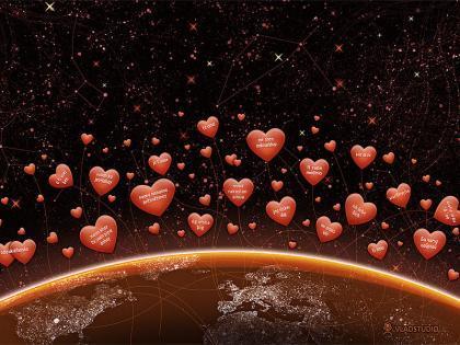 Fondos de pantalla de Vlad Studio para San Valentín