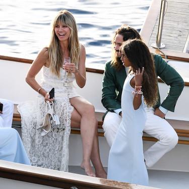 Así es el vestido de novia informal que ha elegido Heidi Klum para su boda con Tom Kaulitz en Capri