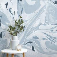 Sigue la tendencia mármol para las paredes, ahora reinventando su acabado de forma artesanal