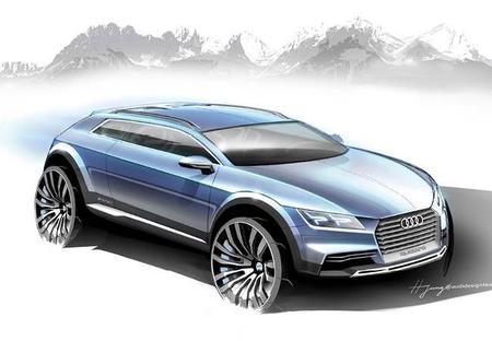 Primeras imágenes del Audi Q1 en fase conceptual