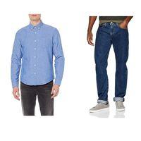 Chollos en tallas sueltas de pantalones, camisas y sudaderas de marcas como Esprit, Levi's o Umbro en Amazon