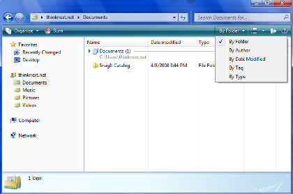 Explorador de Windows 7