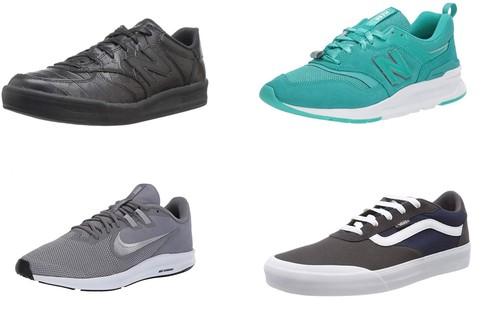 11 chollos en tallas sueltas de zapatillas New Balance, Vans, Puma o Nike por menos de 30 euros en Amazon