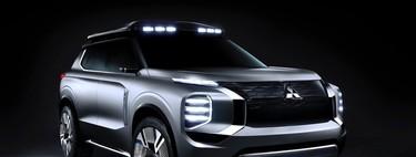 El Mitsubishi Engelberg Tourer Concept, quiere ser el SUV híbrido enchufable perfecto para ir de aventura