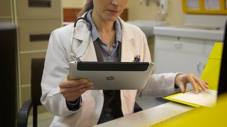El misterioso tablet de HP vuelve a hacer aparición en una imagen promocional