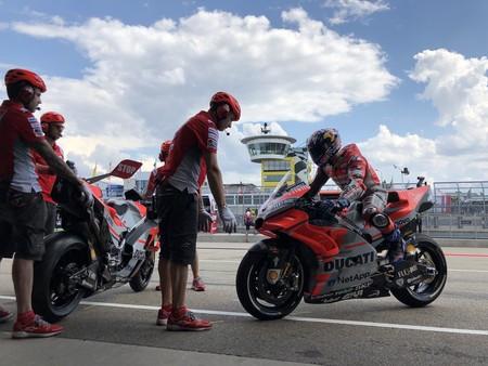 Andrea Dovizioso Gp Alemania Motogp 2018