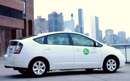 Zipcar Toyota Prius