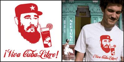 "Camiseta ""¡Viva Cuba-Libre!"""