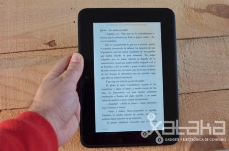 Kindle Fire HD análisis en modo lectura
