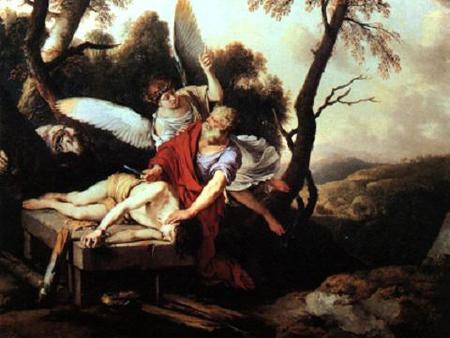 Sacrifico de Abraham. La Hire