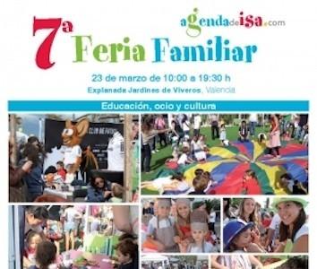 El próximo domingo se celebra la 7ª Edición de la Feria Familiar en los Jardines de Viveros (Valencia)