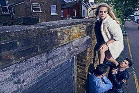 Cara Delevingne Pepe Jeans campaña Otoño-Invierno 2014/2015