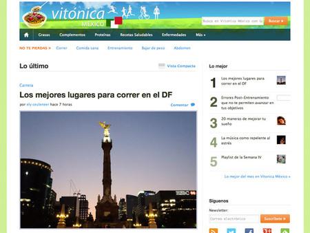 """""""Vitónica México"""", lanzamos nuestra publicación dedicada a la buena salud"""