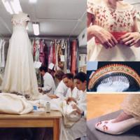Lorenzo Caprile y sus vestidos de novia