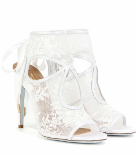 zapatos blancos de boda para ser la más cool