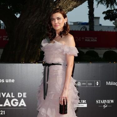 Estos han sido los 11 mejores looks de belleza de la alfombra roja de clausura del Festival de Málaga 2021