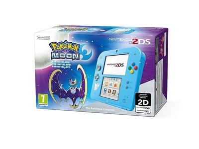 Por 99 euros, tienes en Mediamarkt una Nintendo 2DS con Pokemon Luna