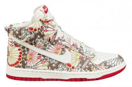 Nuevas zapatillas Nike x Liberty, flores para primavera