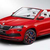 Škoda Sunroq: el Karoq descapotable que ha resultado ser un proyecto creado por aprendices de la marca
