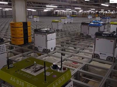 Cuando los robots son capaces de preparar en 5 minutos pedidos de supermercado que a los humanos les toma 2 horas