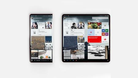 Algunos indicios apuntan a que en 2019 podríamos ver el primer dispositivo de Microsoft con pantalla plegable