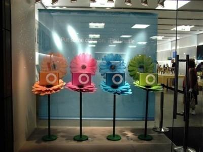 Imagen de la semana: Escaparate de los nuevos iPod shuffle