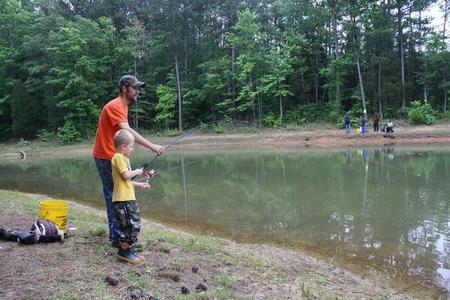 Consejos para ir de pesca con niños