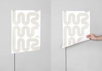 L-Ink, el póster lámpara LED