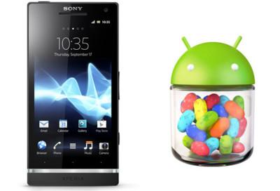 Sony Xperia S comienza a recibir Android 4.1.2 (Jelly Bean)