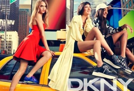 dkny pv 2014 vestido rojo