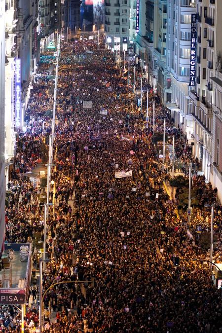 Huelga Feminista Madrid