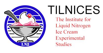Helado hecho con Nitrogeno líquido