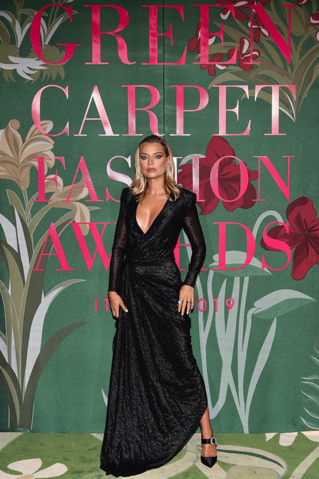 Veronica Ferraro green carpet fashion awards 2019