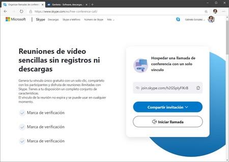 Skype Llamadas Web