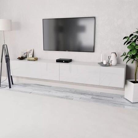 Mueble Televisor Bajo De Estilo De Moderno