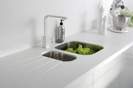 Plan cambiar el fregadero: ejemplos funcionales y decorativos