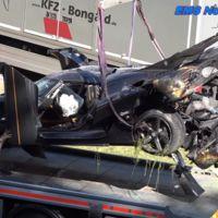 Un Koenigsegg One:1 se destruye en el Infierno Verde