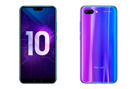 Honor 10: su lector de huella bajo el cristal y sus cámaras quieren desafiar a la gama media