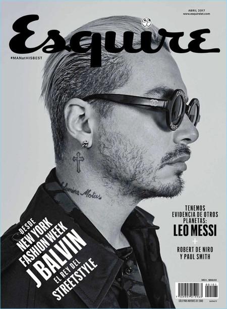Jbalvin 2017 Esquire Mexico Cover