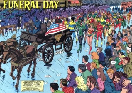 El funeral de Superman