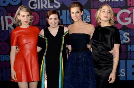 Las chicas de Girls presentan su cuarta temporada en Nueva York