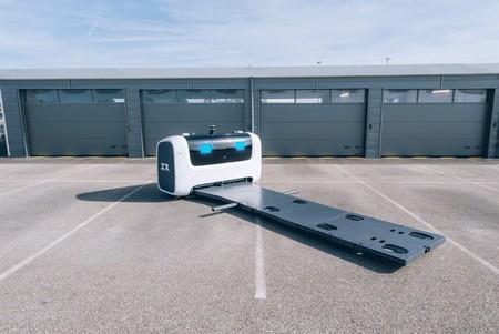 Stanley Robotics Stan Robot Parking Valet 1