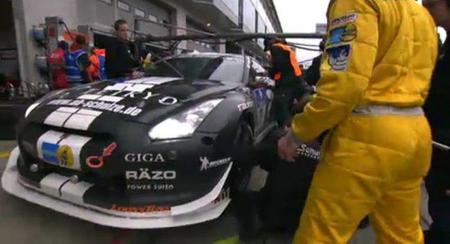 Yamauchi participa en las 24 horas de Nurburgring al volante de un Nissan GT-R
