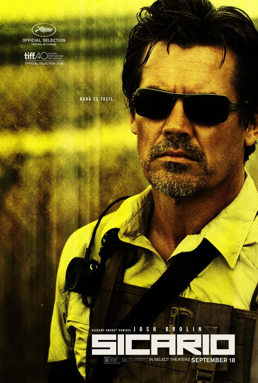 Foto de Todos los carteles de la película 'Sicario' (10/13)