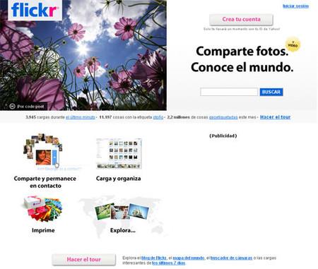 Galerías gratis en internet: flickr